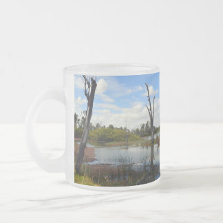 Where_The_Wildlife_Play,_Frosted_Beer_Glass_Mug Frosted Glass Coffee Mug