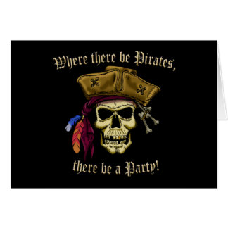 Where There Be Pirates Card