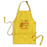 Where there is Beer - hairstylist Standard Apron