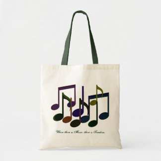 Where there is Music Tote Bag