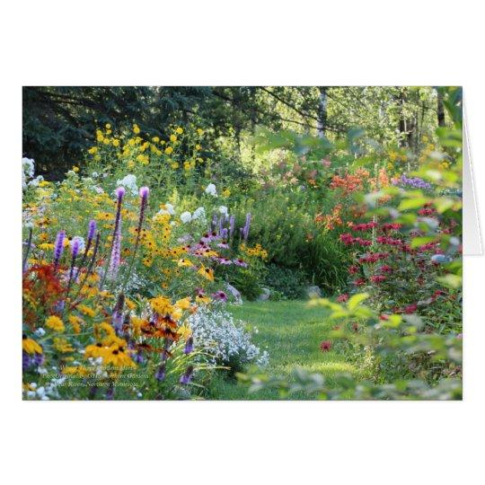 Where Three Gardens Meet Card