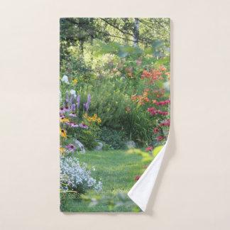 Where Three Gardens Meet Hand Towel