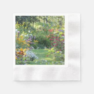 Where Three Gardens Meet Napkin