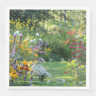 Where Three Gardens Meet Paper Dinner Napkin