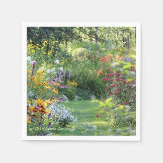 Where Three Gardens Meet Paper Napkin