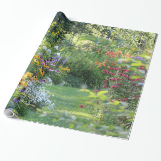 Where Three Gardens Meet Wrapping Paper