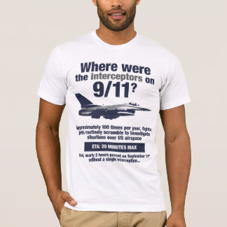 Where were the 911 interceptors? Men's T-shirt