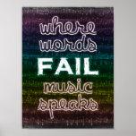 Where Words Fail, Music Speaks Poster