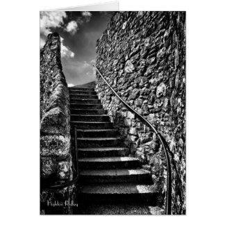 Where Your Steps Lead blank Card