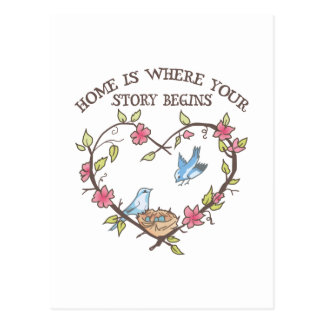 WHERE YOUR STORY BEGINS POSTCARD