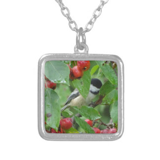 Where's Chickadee? Silver Plated Necklace