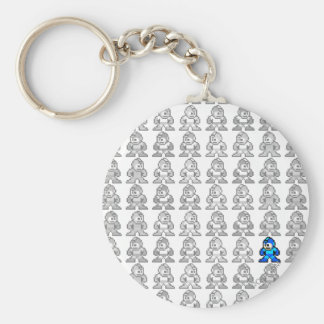 Where's Mega Man? Keychain