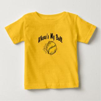Where's My Ball? Baby T-Shirt