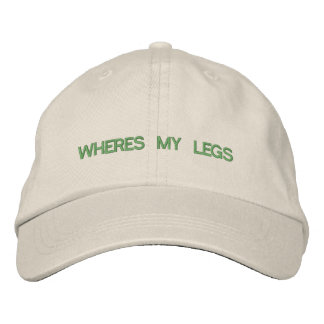 Where's My Legs Hat