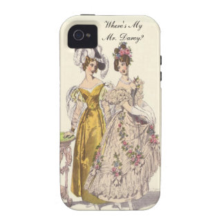 Where's My Mr. Darcy? Vibe iPhone 4 Case