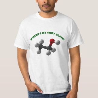 Where's My Shot Glass-Ethanol T-Shirt