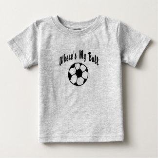Where's My Soccer Ball? Baby T-Shirt