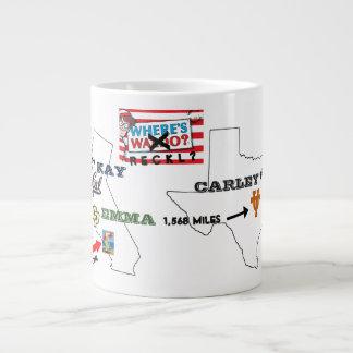 Where's RECKL? Large Coffee Mug