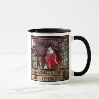 Where's The Coffee with Polish Chicken Mug