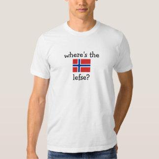 where's the lefse? shirt