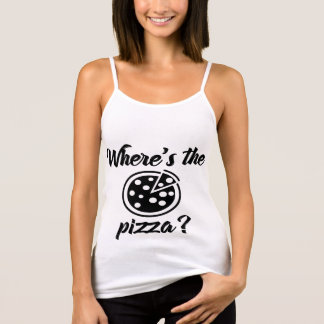 Where's The Pizza? Tank Top