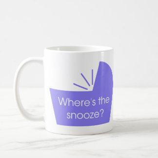 Where's The Snooze Button Coffee Mug