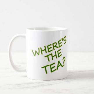 Where's the tea? coffee mug