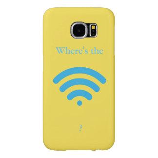 Where's the WiFi? Samsung Galaxy S6 Case