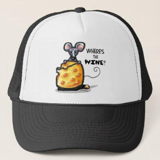 Wheres The Wine Trucker Hat
