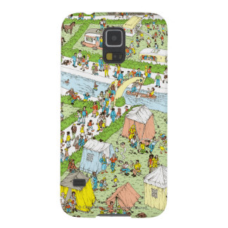 Where's Waldo Campsite Galaxy S5 Cover