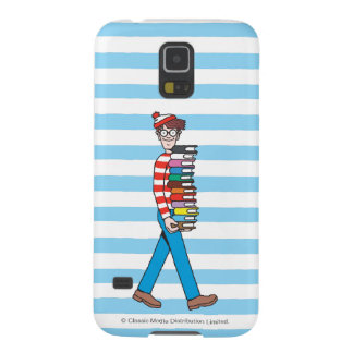 Where's Waldo Carrying Stack of Books Galaxy S5 Case