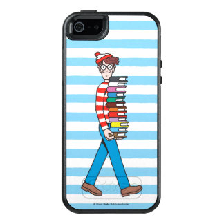 Where's Waldo Carrying Stack of Books OtterBox iPhone 5/5s/SE Case