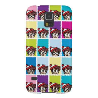 Where's Waldo Colorful Pattern Galaxy S5 Case