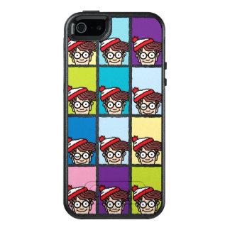 Where's Waldo Colorful Pattern OtterBox iPhone 5/5s/SE Case