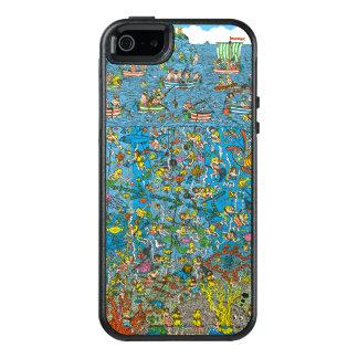 Where's Waldo Deep Sea Divers OtterBox iPhone 5/5s/SE Case