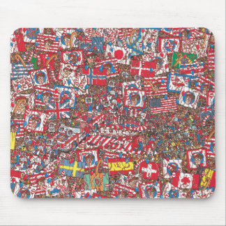 Where's Waldo Enormous Party Mouse Pad
