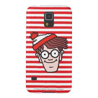 Where's Waldo Face Galaxy S5 Cover