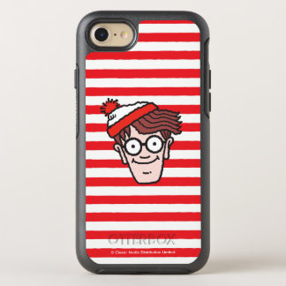 Where's Waldo Face OtterBox Symmetry iPhone 8/7 Case