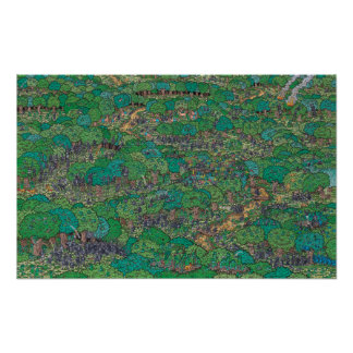 Where's Waldo   Fighting Foresters Poster