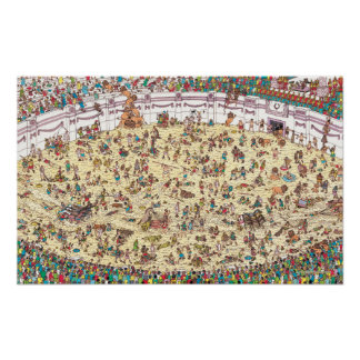 Where's Waldo   Fun and Games in Ancient Rome Poster