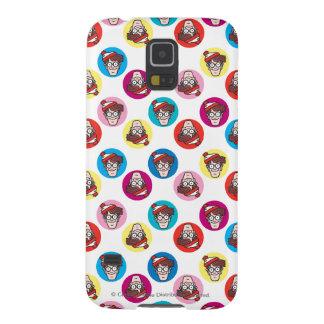 Where's Waldo Fun Circle Pattern Cases For Galaxy S5