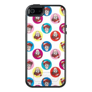 Where's Waldo Fun Circle Pattern OtterBox iPhone 5/5s/SE Case