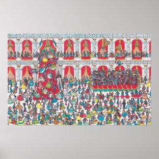 Where's Waldo | Having a Ball Poster