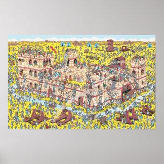 Where's Waldo | Knight Attack Poster