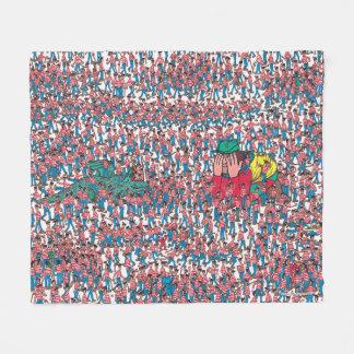 Where's Waldo | Land of Waldos Fleece Blanket