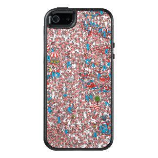 Where's Waldo Land of Woofs OtterBox iPhone 5/5s/SE Case