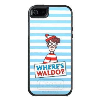 Where's Waldo Logo OtterBox iPhone 5/5s/SE Case