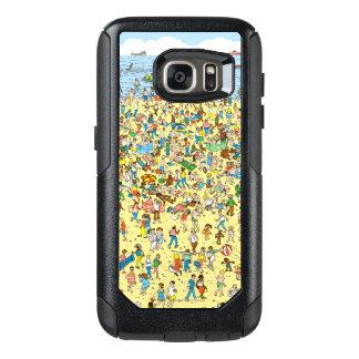 Where's Waldo on the Beach OtterBox Samsung Galaxy S7 Case