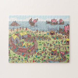 Where's Waldo | On Tour with the Vikings Jigsaw Puzzle