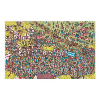 Where's Waldo   Once Upon a Saturday Morning Poster
